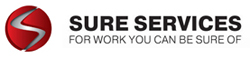 Sure Services logo