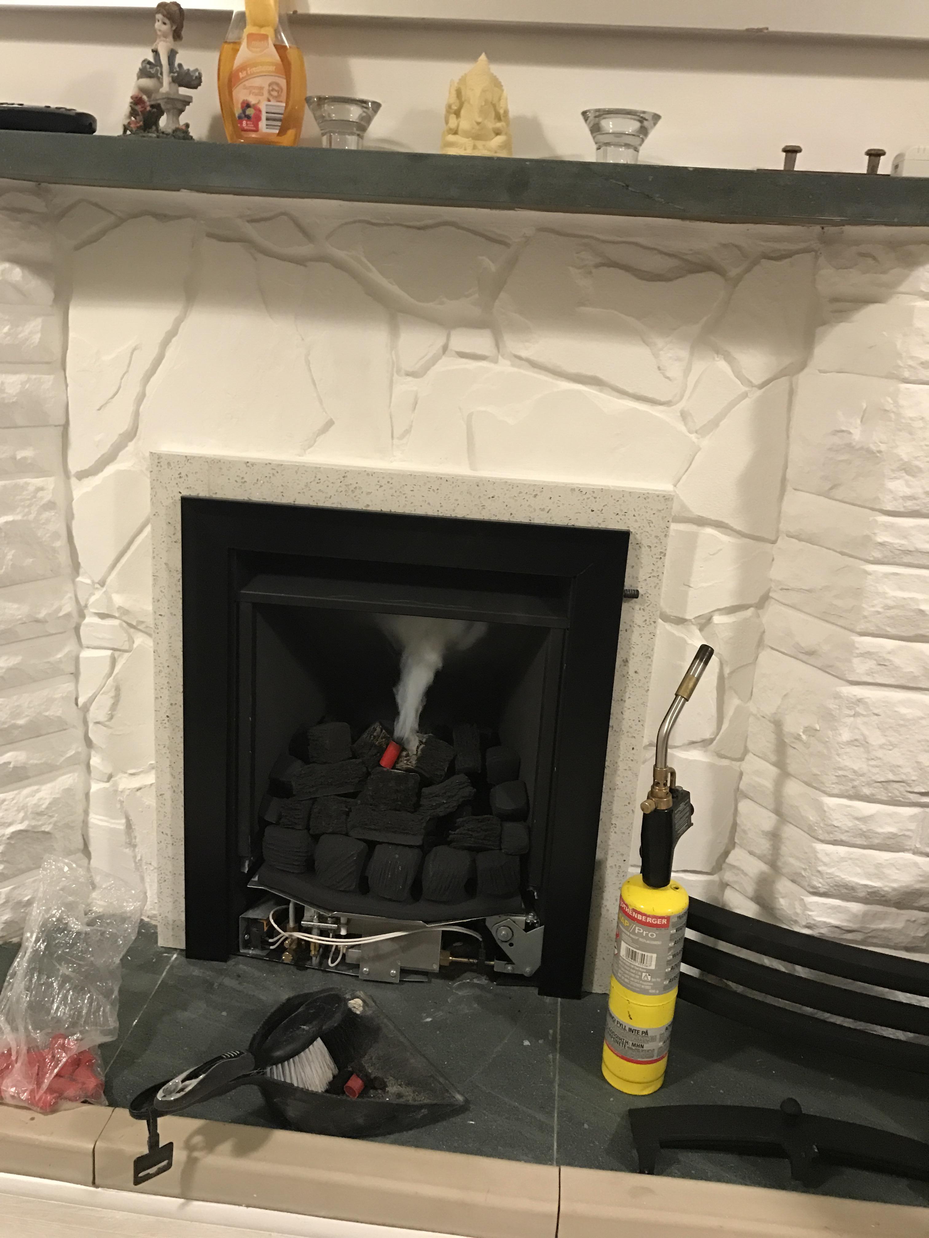 fireplace testing