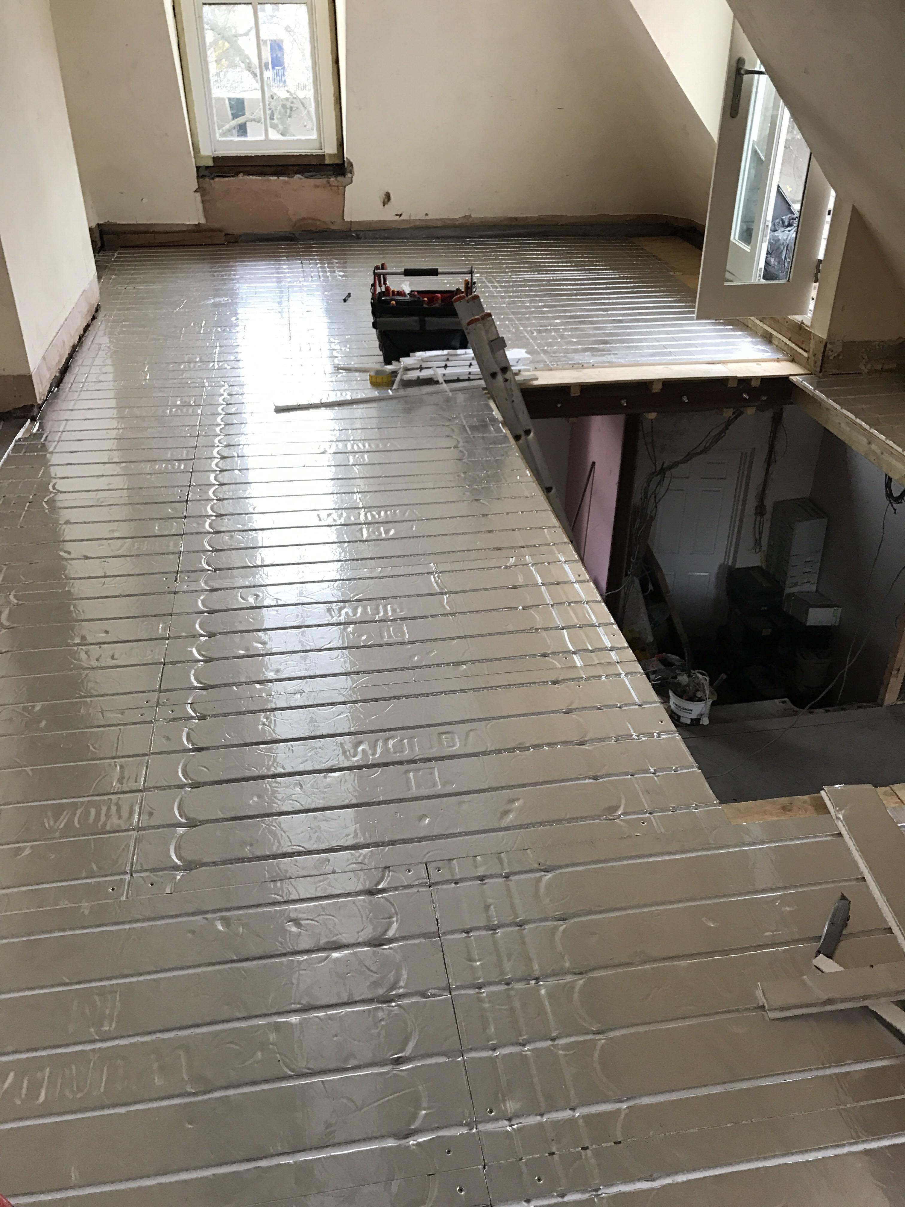Vunda underfloor heating panels