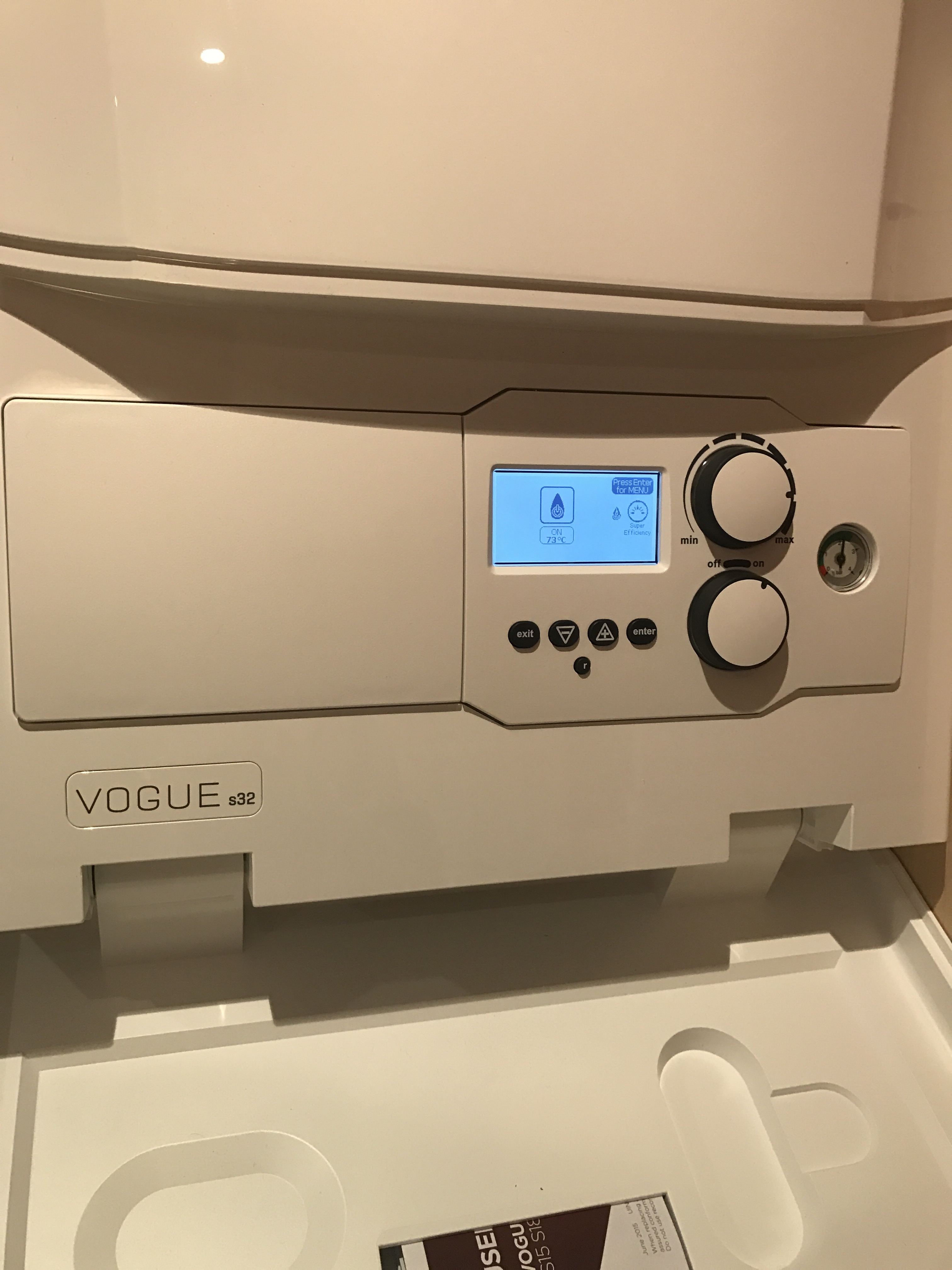Ideal Boiler Quality Installation